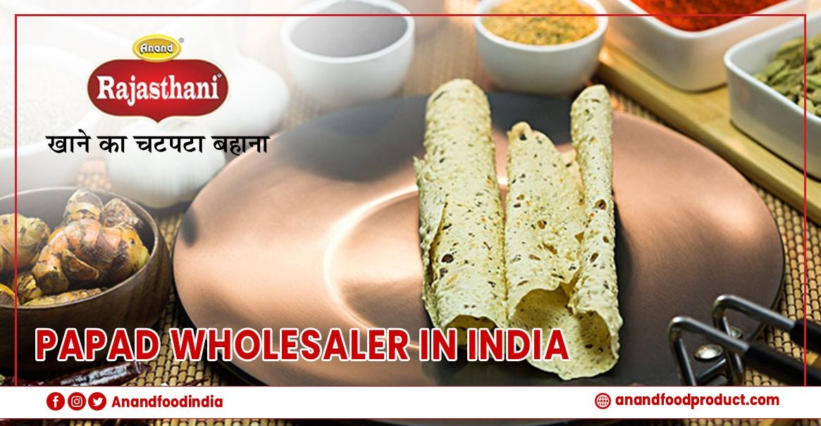 Papad manufacturers in India