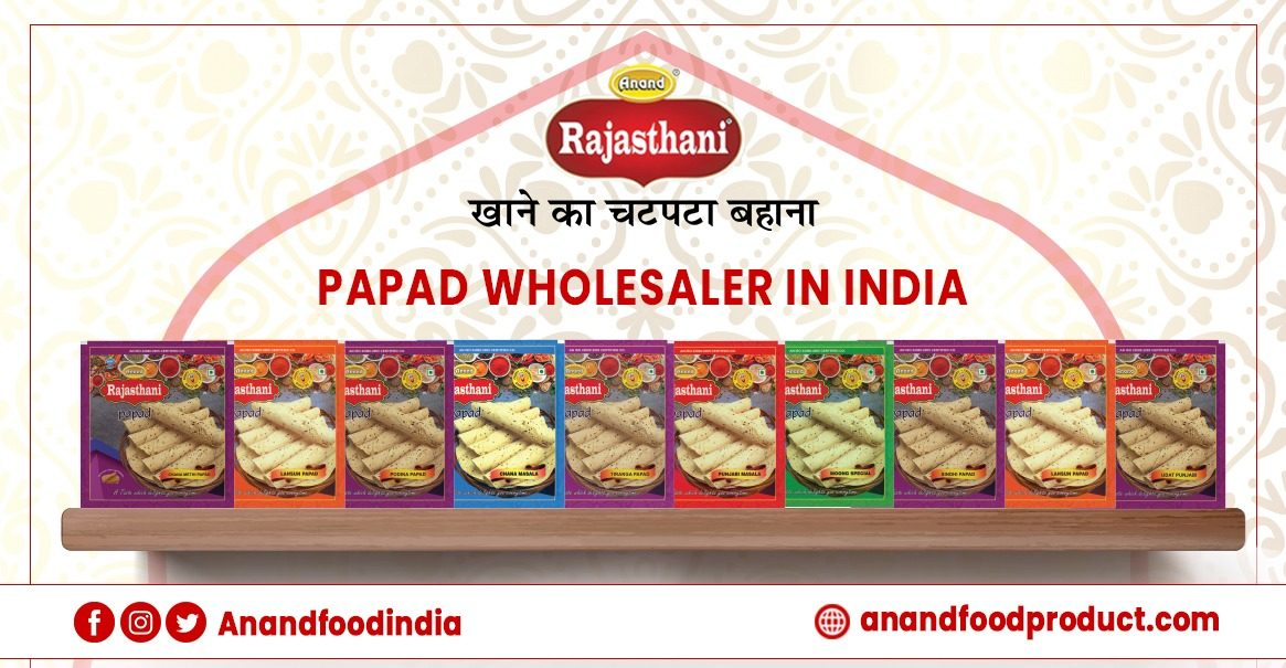 Papad Wholesaler in India