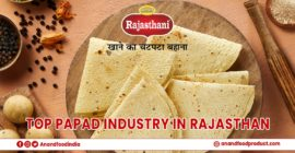 Top Papad Industry in Rajasthan